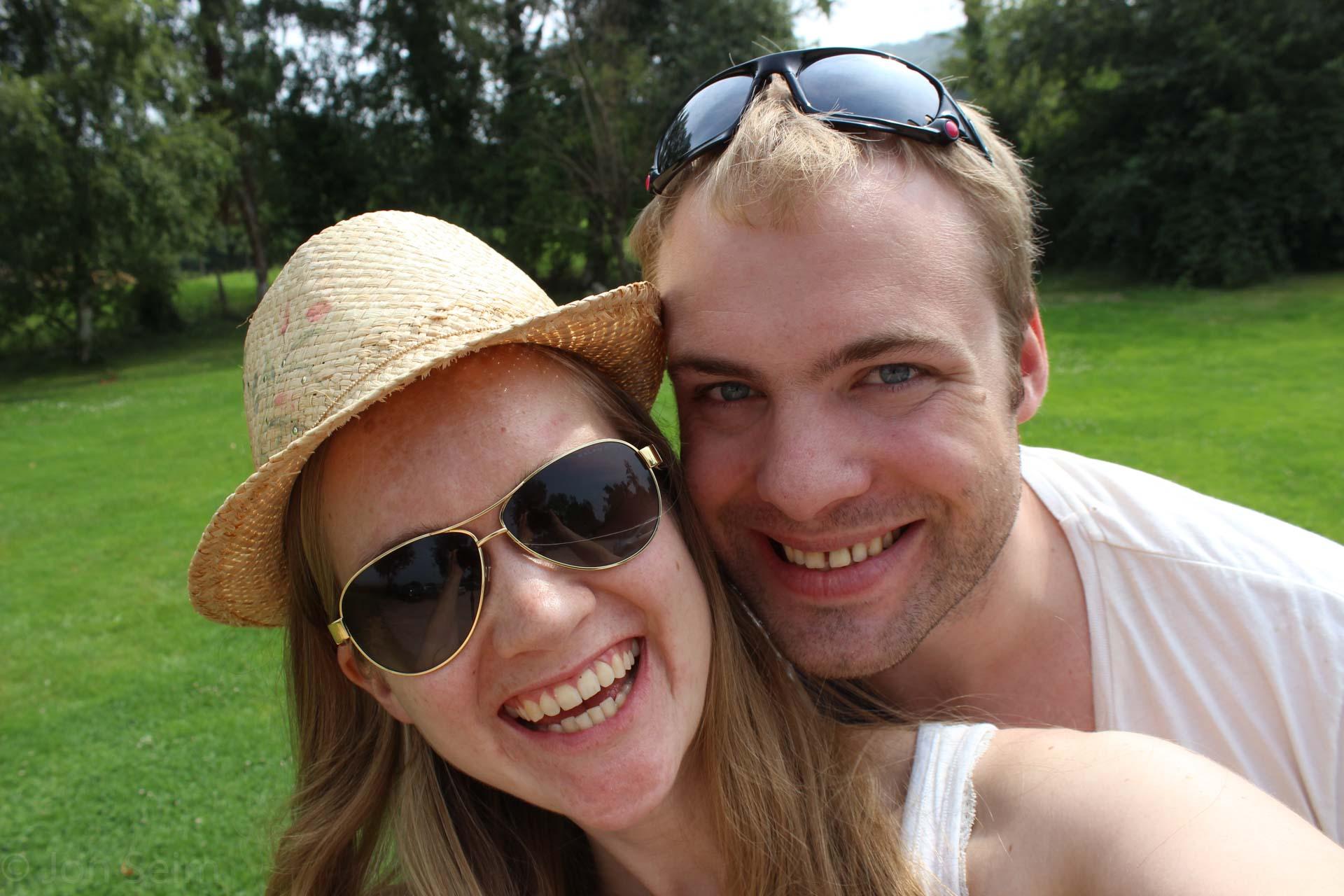I fjor sommer var vi på bryllup i Frankrike, og fikk masse histore med på kjøpet langs strendene i Normandie