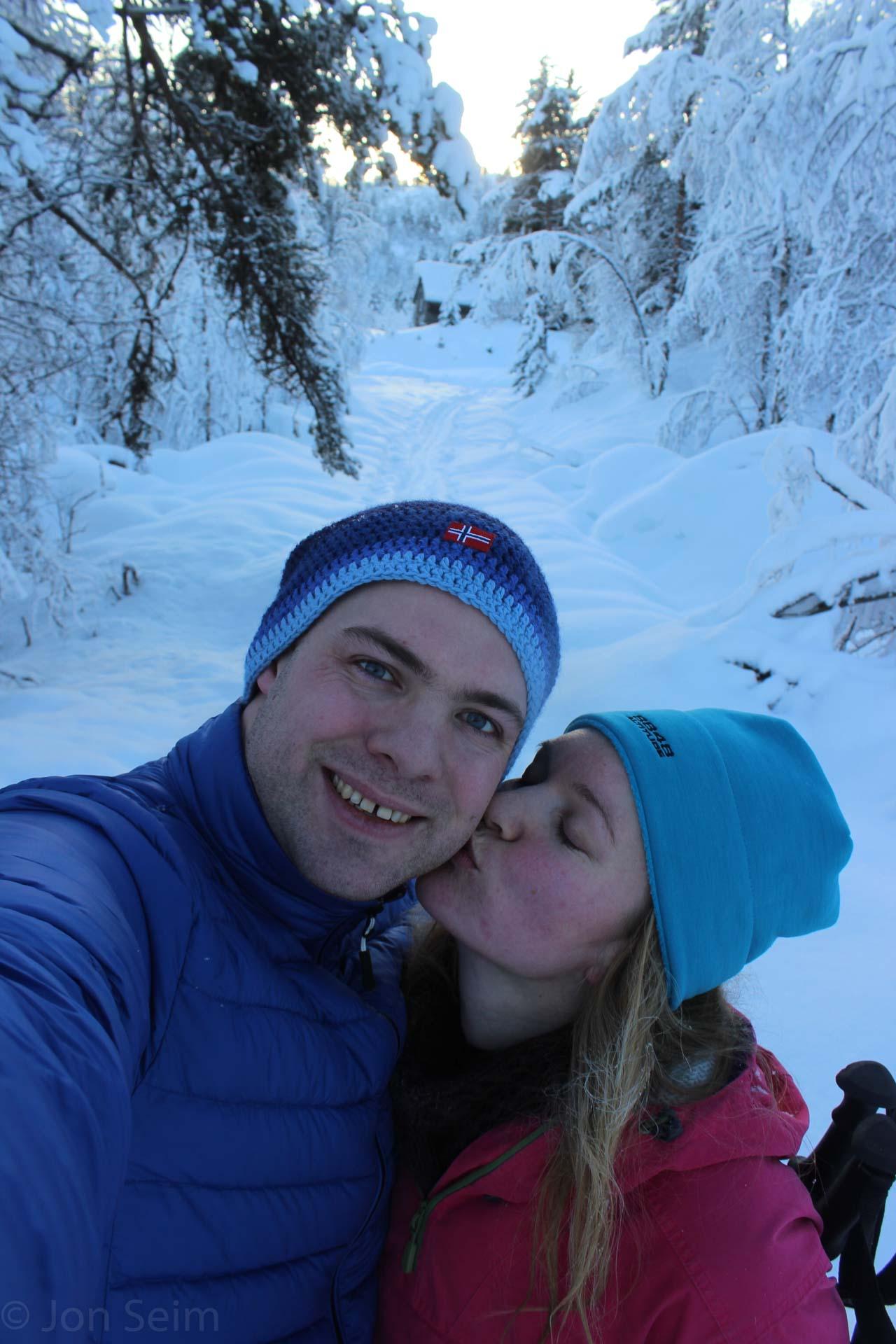 I jula feira vi jul sammen på Voss - i et strålende vakkert vinterlandskap.